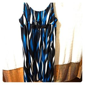 Dresses & Skirts - Abstract Print Dress